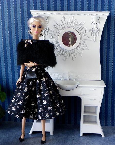 1//6 Fashion Royalty Homme Male Shoes Doll Barbie Poppy Parker Blythe Silkstone