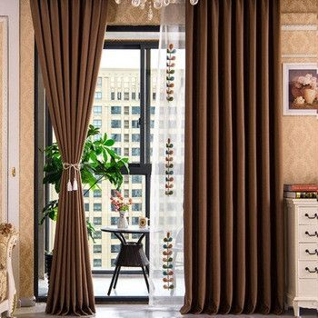 Peach Color Palette Of Living Room Curtains New Modern Fashion Brown Curtains For Living Room Curtains Living Room Brown Living Room Brown Curtains