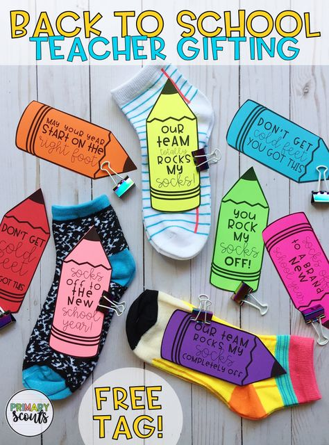 Free Teacher Gift Tags – www.teacherspayte… Free Teacher Gift Tags – www.teacherspayte… - Back To School Staff Gifts, Team Gifts, Student Gifts, Mentor Teacher Gifts Student Teaching, Back To School Gifts For Teachers, Teacher Gift Tags, Teacher Treats, Easy Teacher Gifts, Back To School Teacher