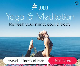Yoga Banner Ad Design Html5 Ad For Website Gwd Ad Banner Template Banner Ads Banner Ads Design Yoga