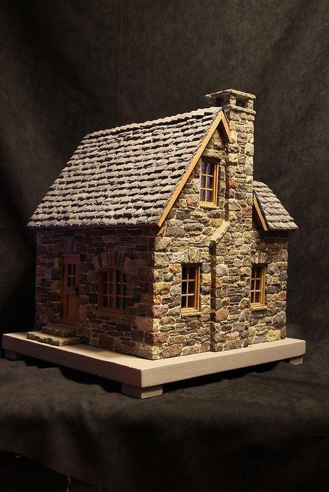 miniature stone cottage | pedro davila | Flickr