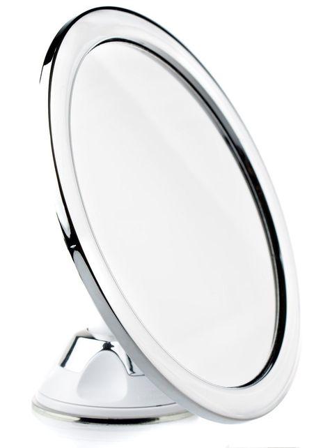 Orren Ellis Marinelli Fogless Frameless Lighted Bathroom Vanity