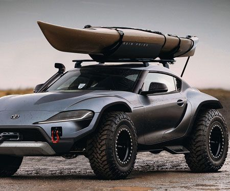 Feast Your Eyes On The Badass 2020 Supra Dune Buggy 4x4 Dune Buggy Toyota Supra Classic Cars