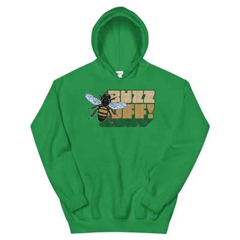 Save the Bees or Buzz Off! Either way, show your bee love with this great design. Everyone needs a cozy go-to hoodie to curl up in, so go for one that's soft, smooth, and stylish. It's the perfect choice for cooler evenings! Buy now. • 50% cotton, 50% polyester • Double-lined hood • Double-needle stitching throughout • Air-jet spun yarn with a soft feel and reduced pilling • 1x1 athletic rib knit cuffs and waistband with spandex • Front pouch pocket Size guide S M L XL Length (inches) 27 28 29 3