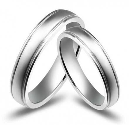 28 Trendy Wedding Rings Couple Marriage White Gold Joias