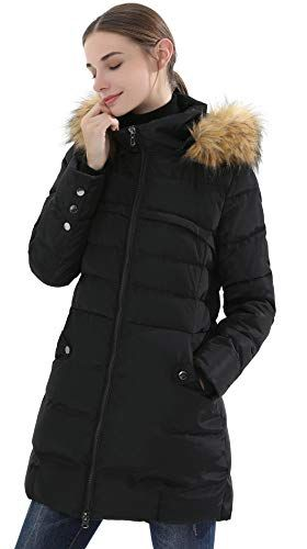 b8c6ac84d Obosoyo-Womens-Hooded-Thickened-Long-Down-Jacket-Winter-Down-Parka ...