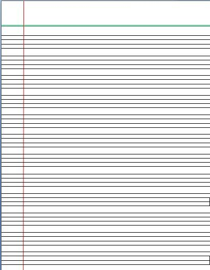 Image Result For Four Lined Paper Pdf Paper Diy Writing Paper Template Handwriting Paper Template Handwriting Paper
