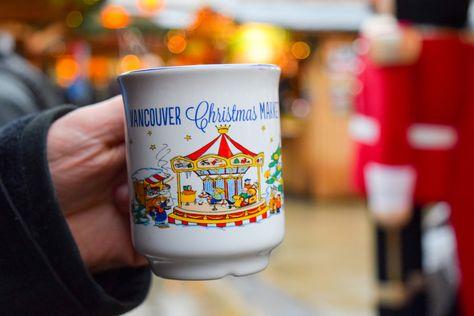 Vancouver Christmas Market Mug.Visiting The Vancouver Christmas Market Coooool