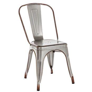 Galvanized Metal Chair Hobby Lobby 1561497 Metal Chairs