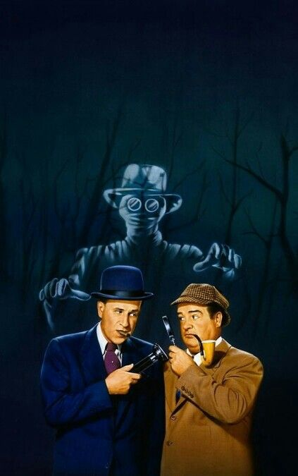 Abbott And Costello Meet The Invisible Man Bud Abbot And Lou Costello Meet The Invisible Man Horror Movie Art Abbott And Costello Movie Art