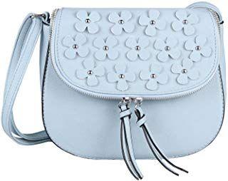 OBC ital Design Damen Blumen Tasche Schultertasche
