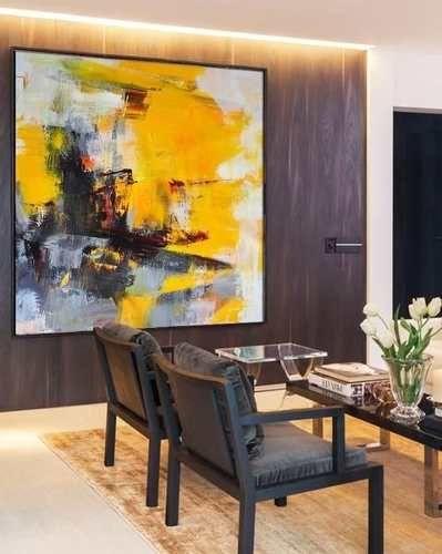 Cuadros Abstractos Grandes Pintados A Mano 2 600 00 En Mercado Libre Abstracto Arte Abstracto De Pared Pintura Oleo Abstracto