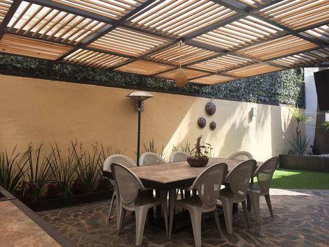 Pin De Regina Costa Flores En Traga Luces Diseno De Terraza Techo De Patio Jardines Modernos