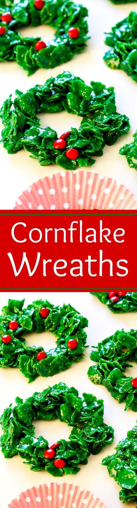 recipe: cornflake wreaths recipe [32]