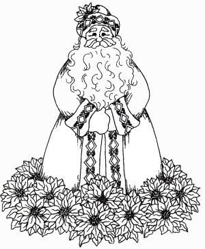 Father Christmas Colouring Pages New Years Christmas Coloring Pages Christmas Drawing Christmas Colors