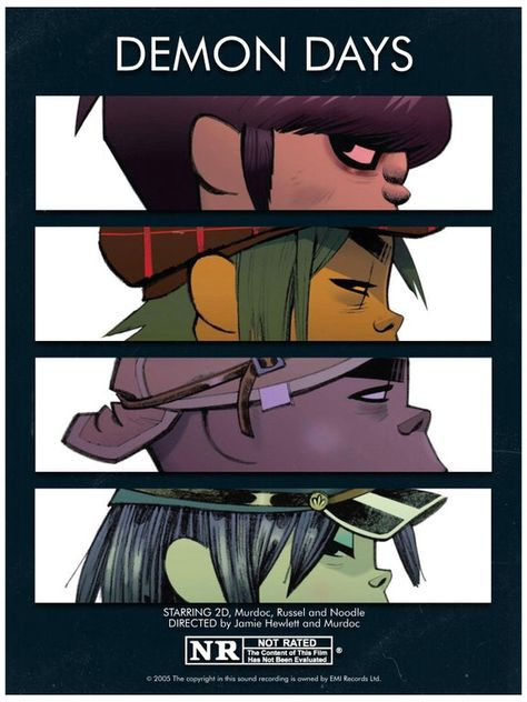 DEMON DAYS (Movie Poster)