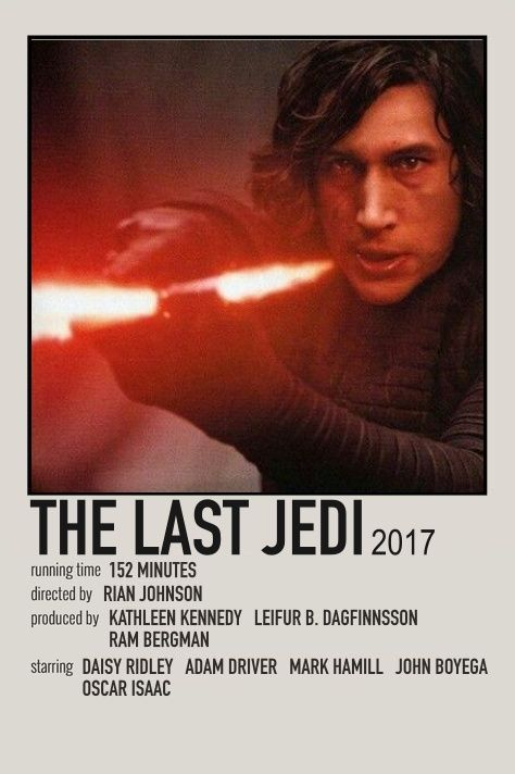 the last jedi movie print