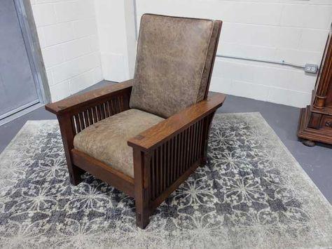 Amazing Antiques By Design Gustav Stickley Arts Crafts Spindle Machost Co Dining Chair Design Ideas Machostcouk