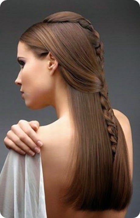 Bellos Peinados De Novias Moda Pelo Liso Peinados Poco Cabello Peinados Para Poco Pelo Peinados Con Trenzas