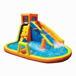 Banzai 90350 Aqua Sports Inflatable Water Park And Outdoor Activity Play Center Target Inflatable Water Park Water Slides Water Cannon