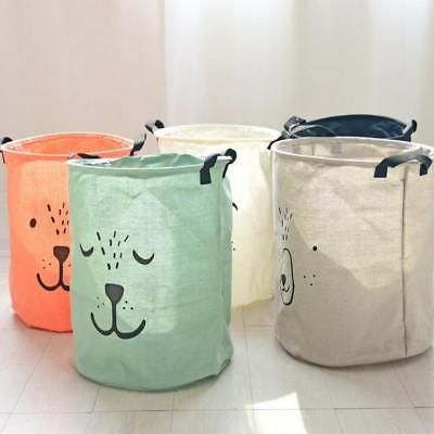 Laundry Basket Hamper Bag Cartoon Clothes Storage Baskets Bags