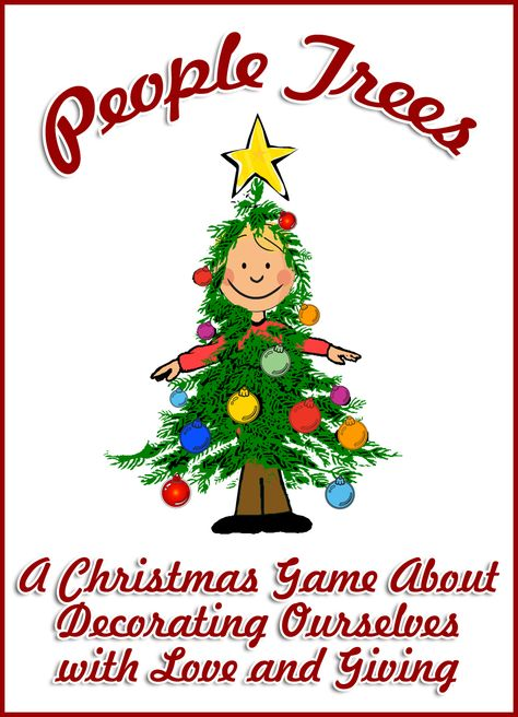 This Christmas game will help students remember the real reason behind Christmas and how it's much more important to decorate ourselves with love and giving than to decorate a real tree.