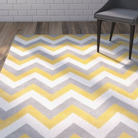 Yellow And Grey Chevron Rug Area Rugs Grey Chevron Rugs