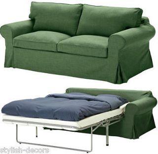 Ikea Ektorp Schutzhulle Fur Schlafwagen Sofabett Svanby Green