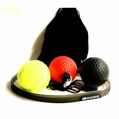 Agility Training Boxing Ball-Head Band Boxing Reflex Ball Set Reaction Ball