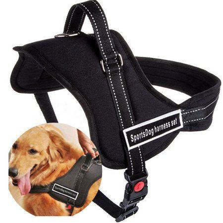 Sportdog Dog Harness For Large Medium Dogs Padded Soft No Pull