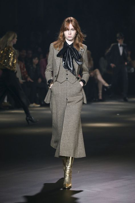 See All The Runway Looks From Saint Laurent's Fall 2016 Show at the Palladium