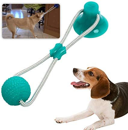 The rubber ball of the toy is very flexible, enhancing the
