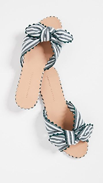c74fed28793 Shirley Knotted Rickrack Slides in 2019 | Spring / Summer | Shoes ...