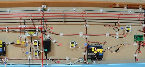 Wiring Furthermore Model Railroad Control Panel Wiring Model ... on