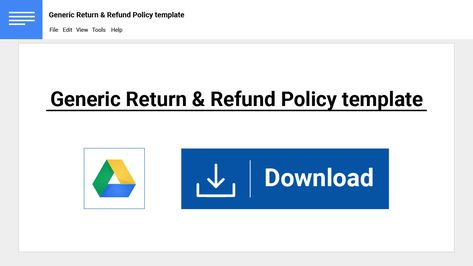 21 best Return and Refund Policy images on Pinterest E commerce