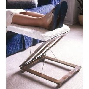 Magnificent Adjustable Foot Stool With Fleece Foam Cushion Adaptive Customarchery Wood Chair Design Ideas Customarcherynet
