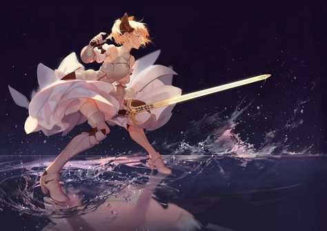 Lily  #Fate #Saber #Anime #animeGirl