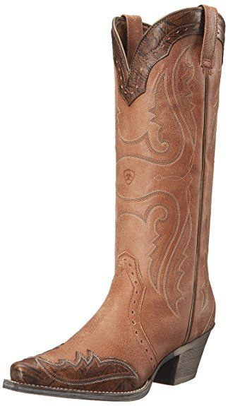 b911a0419273f Ariat Women's Heritage X Toe Wingtip Western Cowboy Boot Review ...