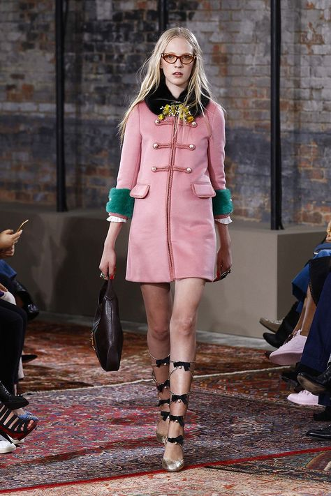 Gucci Resort 2016 Fashion Show - Emile Evander - Look 61