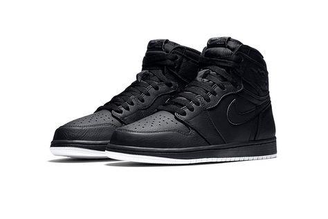 watch 170f3 8f0c0 Air Jordan 1 Retro High OG Black Perforated