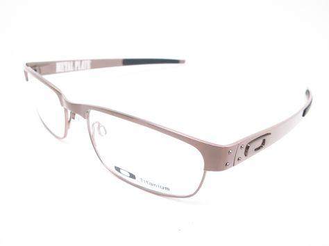cf08a34cb3d Oakley Metal Plate OX5038-06 Eyeglasses Product Details Brand Name   Oakley  Model Number   OX5038-06 - Model Name   Metal Plate Frame Color   Brushed  Chrome ...