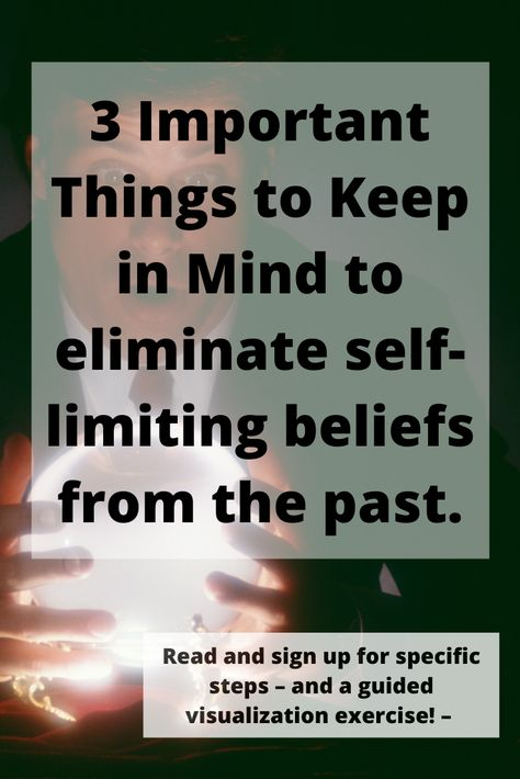 Overcoming self-limiting beliefs from the past could move you forward by leaps and bounds. Self-limiting beliefs holding you back without you even knowing it is  happening.  Learn what to keep in mind and sign up for a free series of step and a visualization of how to overcome these limiting beliefs with one of the worlds top teachers.
