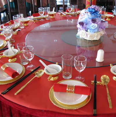 Google Image Result for //us.123rf.com/400wm/400/400/bedo/bedo0610/bedo061000073/586102-chinese -wedding-banquet-table-setting.jpg | Pinterest | Banquet ... : chinese table setting - pezcame.com