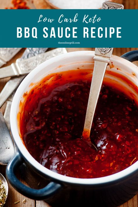 Sugar-free doesn't mean grill-free. Get your spice kick and enjoy any barbecue with this easy homemade low carb keto BBQ sauce.