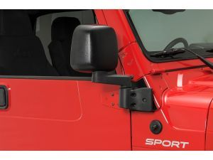 Mirror Relocation Bracket Kit For 97 06 Jeep Wrangler Tj