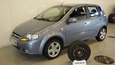 Chevrolet Kalos Ajoneuvo Auto Historia