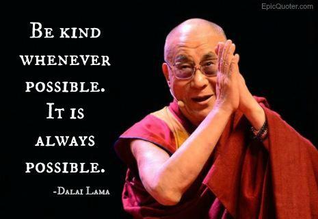 Dalai Lama Quote About Kindness Wijze Woorden Spreuken En