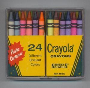 HALLMARK CRAYOLA CRAYON RED PLASTIC CHARACTER SHAPED SHARPENER CRAFT /& SCHOOL