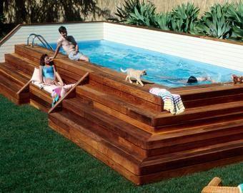 Lap Pool And Spa Plans Diy In Ground Pool Digital Plans Diy In Ground Pool Build Your Own Pool In Ground Pools
