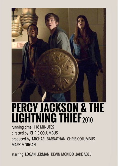 Percy Jackson & the lightning thief by Millie